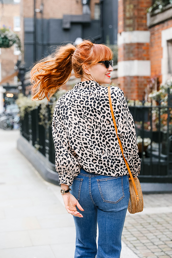 belle & bunty london bloggers streetstyle blog vintage style ways to wear leopard print margarita karenko