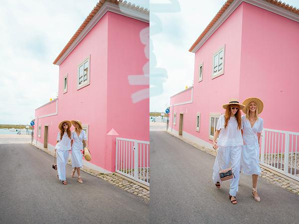 belle & bunty london fashion travel bloggers portugal algarve swimswear holiday summer style blog