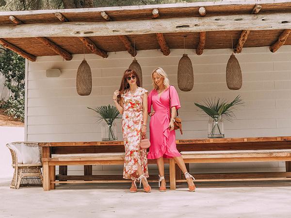 BELLE & BUNTY LONDON BLOGGERS TRAVEL BLOG IBIZA Cathy guetta bikini where to go stay eat