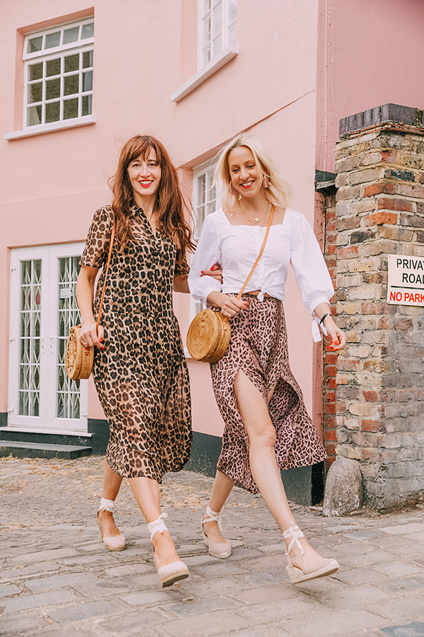 belle & bunty London bloggers fashion trends aw18 leopard print rixo animal prints