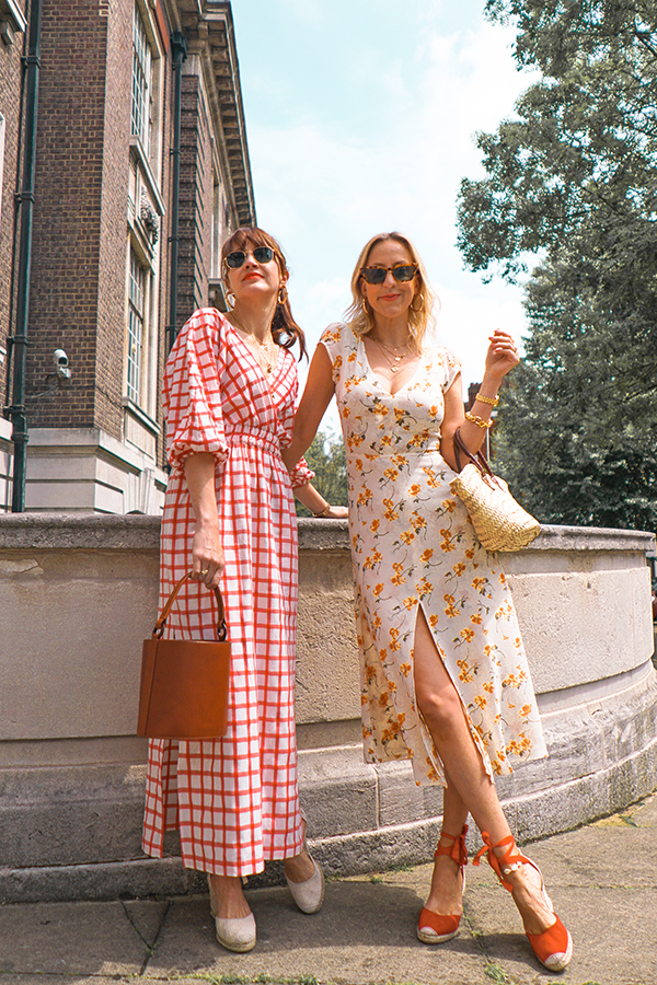 belle and bunty for farfetch positively concious reformation dress mara hoffman london bloggers influencers